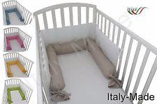 RIDUTTORE LETTINO CULLA PARACOLPI SFODERABILE LAVABILE 220 CM MADE IN ITALY