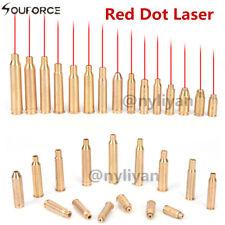 CAL.38/.45/9mm/7.62X39/.223 láser rojo latón cartucho colimador para Rifle hunt