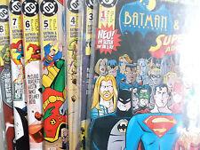 AUSWAHL = BATMAN & SUPERMAN  ADVENTURES ab Heft  1 - 8 ( Dino Verlag ) Neuwertig