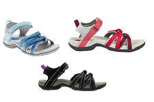 Teva Tirra Damen Trekking Sandale Wandern Griffge Sohle leicht sehr gute Dämpfun