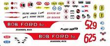 BOB Ford Mustang Hemi Hunter NHRA Drag Decals 1/43rd Scale Slot Car Decals