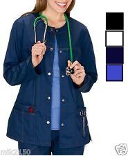 Dickies Scrubs Gen Flex Jr.Fit Front Warm-Up Jacket 82409 Choose Color Size NWT