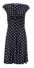 Lauren Ralph Lauren Women's Polka Dotted A-Line Dress