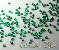 DMC Hotfix Strass Pietre Emerald ss10 numero di pezzi selezionabile STRASS A CALDO VERDE
