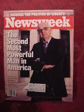 NEWSWEEK February 24 1986 PAUL VOLCKER LEE IACOCCA +++