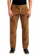 Dolce & Gabbana Men's Brown Corduroy Casual Pants Size 28 30 32 34 38 40 42