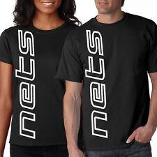 NEW Nets VERT SHIRT T-shirt Black L XL 2X 3X 4X 5X Brooklyn Men's Ladies'