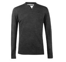 Pull Homme Pierre Cardin Paris col v t shirt tunisien gris classe mode S/XXL
