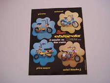 advertising Pubblicità 1971 CHIORDA PIRATA/MISTRAL/PIRO
