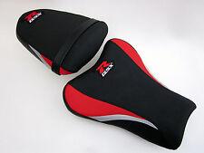 S13 Suzuki Gsxr 1000 K5, K6 Cubierta de asiento actualización Rojo/Negro/plateado-Set
