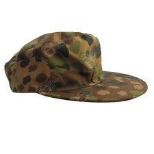 GERMAN DOT PEAS PATTERN FIELD CAP - All Sizes WW2 REPRO SKI CAP