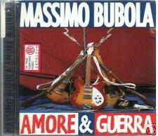 BUBOLA MASSIMO F. DE ANDRE' AMORE & GUERRA CD