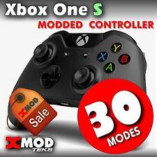 XBOX ONE S MODDED CONTROLLER, RAPID FIRE X MOD, SCORPIO CHIP COD,  XMOD 30 MODES