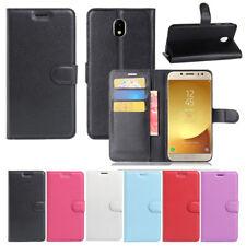 Leather Wallet Flip Case Cover F Samsung Galaxy S9/ J8 / J5 Pro/ J7 Pro / J2 Pro