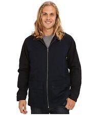New Volcom navy blue KORNERED cargo  hunting jacket coat sz Medium or  XL XLARGE