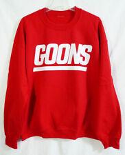 NFL New York Football Giants inspired Red Goons Crewneck Sweatshirt