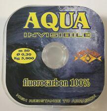 MONOFILO FLUOROCARBON AQUA INVISIBILE  2 BOBINE