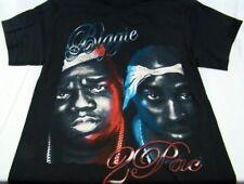 Men Tupac Shakur Biggie Smalls Notorious BIG Old School Rap Hip Hop T Shirt Sz M