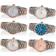 Orologio HOOPS mod. LUXURY L . S&G  ref. 2590LSRG Donna acciaio bicolore e data