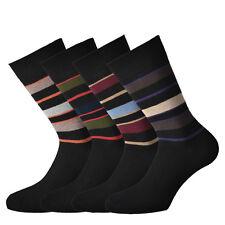 12 paia di calze Fontana corte in caldo cotone elasticizzato a righe. Italiane