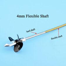 RC Boat Shaft Kit 4mm Flexible Axle+Drive Dog + Gasket+3 Blades Propeller #1864
