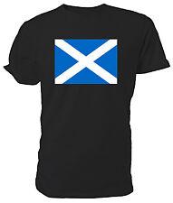 Scottish Flag T shirt - Choice of size & colours.