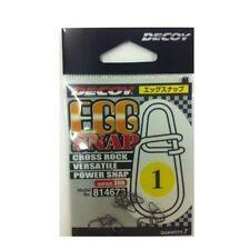 6099) DECOY. EGG SNAP SN-3. Cross Rock Versatile Power Snap. 7pcs.Size variation
