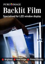A4 100 sheets Print Back lit Film paper for LED Window display light boxmenu box