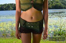 Pixie Utility Pocket Belt, Festival Fairy Elven Goa Rave Psytrance Gypsy Hip Bag