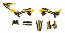 WR250R WR250X Graphics decal kit 2007 - 2015 #3333 Yellow Free Custom Service