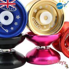 Euro-yo Elite yo-yo Advanced BEARING reattività ALLUMINIO YoYo con hubstacks
