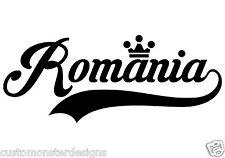 Romania... Romania Vinyl Wall Art Quote Decor Words Decals Sticker