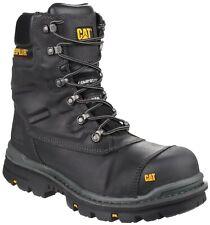 Caterpillar CAT Premier s3 Black Safety combat Side-Zip Boot & Midsole Size 6-12