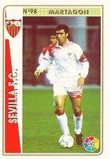 N°098 MARTAGON # SEVILLA.FC OFFICIAL TRADING CARD MUDICROMO LIGA 1995