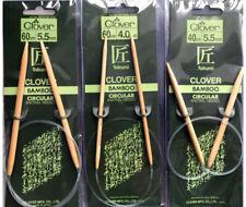 CLOVER Bamboo Circular Knitting Needles