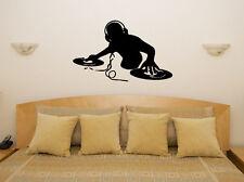 DJ Decks Music Mixing Vinyl Club Dance House Wall Art Decal Sticker Picture