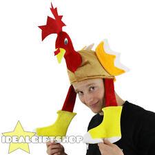 Noël/thanksgiving dinde nouveauté chapeau fancydress x-mas oiseau accessoire