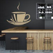 Filiżanka Herbaty Kawy Jedzenie picie Naklejka Na ścianę WS-18866