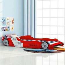 vidaXL Kinderbett Autobett Jugendbett Spielbett ohne Matratze 90x200 cm Rot