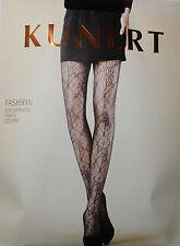 Kunert Fashion Strumpfhose supersofte Netzqualität eleg. Ketten-Blumennetzmuster