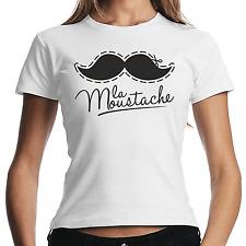 La Moustache | Mustache | Schnurrbart | Hipster | Retro | XS-XL Girlie Shirt