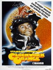 A Clockwork Orange Kubrick Movie Retro Vintage Giant Wall Print POSTER