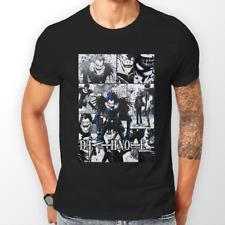 Death NOTE Ryuk MANGA STRISCIA Kira L ANIME T-Shirt Unisex T-shirt Tee Tutte le Taglie