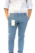 pantalone uomo slim cotone stretch fashion moda blu grigio beige made italy top