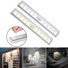 19cm LED Strip Lights Bar for Kitchen Under Cabinet Wardrobe PIR Motion Sensor