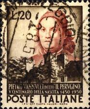 ITALIA REP. - 1951 - 500° della nascita di Pietro Vannucci - Perugino - Usato