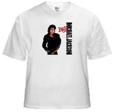 Tee Shirt New Adult Unisex Pop Legend MICHAEL JACKSON BAD on cotton t-shirt