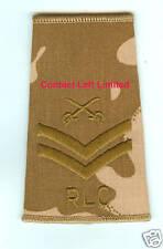 NEW Desert DPM CPL Rank Slide + PTI Crossed Swords RLC