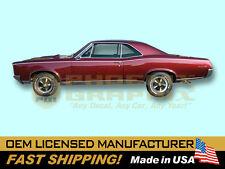 1967 Pontiac GTO Stencil Decals & Stripes Kit