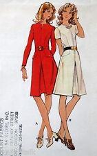 Vtg 70s dress pattern sz 10 B32business casual  M3053